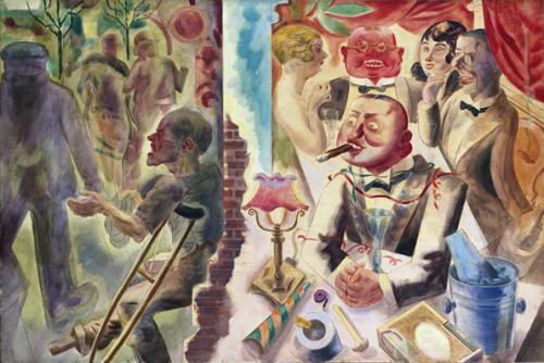 Dadaist art exhibition at the Yale Art Gallery